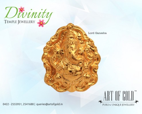 Nakshi Ganesha Pendent