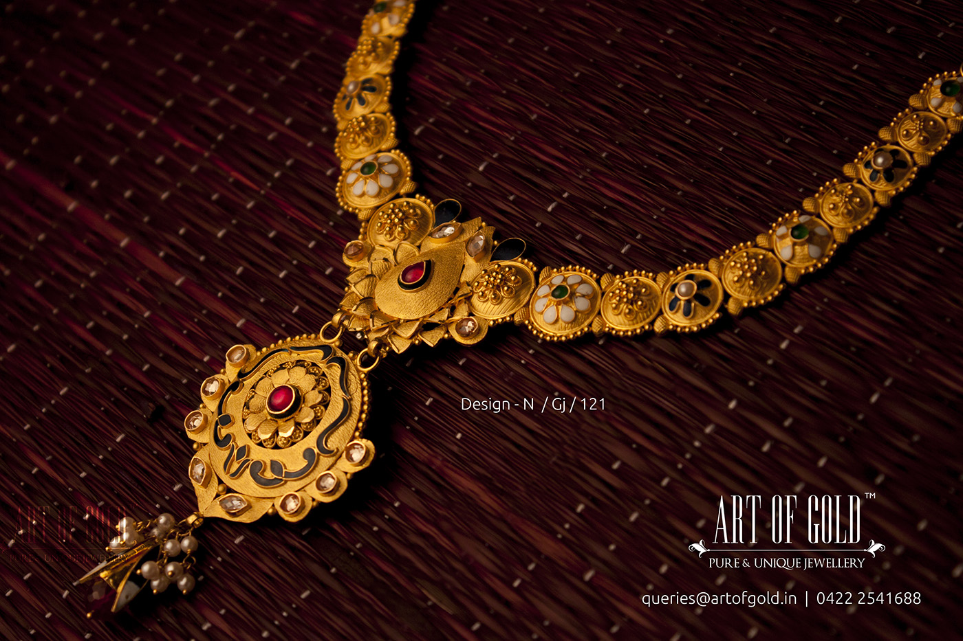 green buy design beautiful maroon jewellery necklace pearl online drop india set sets antique kundan short