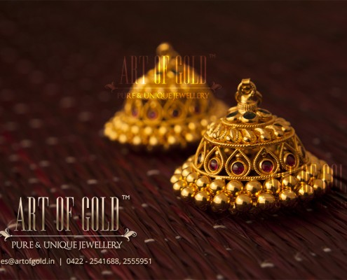 Antique Jhumki