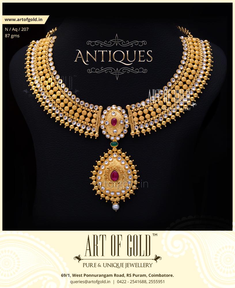 Antique Bridal Necklace