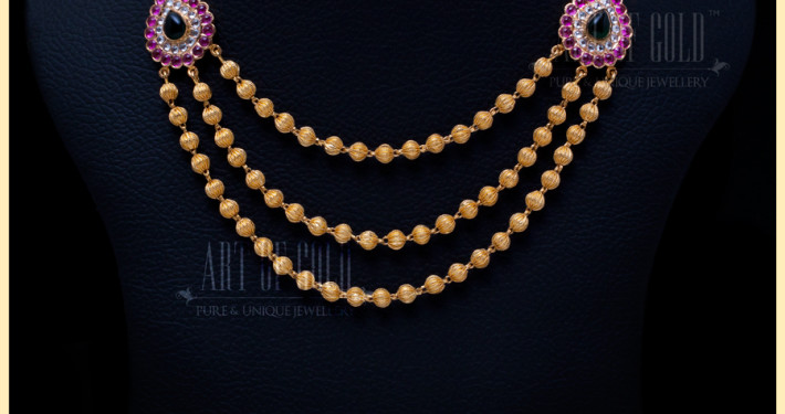 Designer Necklace with Mugappu