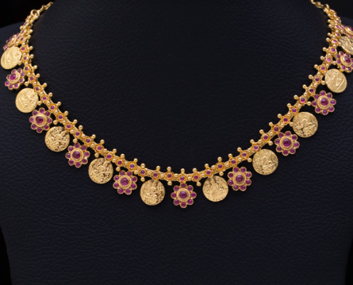 weight light gold archives jewellery ruby category stones weighted necklace
