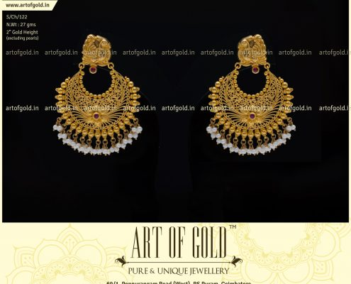 Bridal Chandbali Earrings