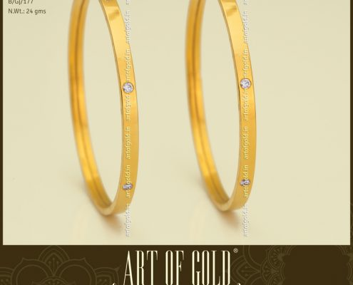 Daily Use Bangle studded with Swarovski