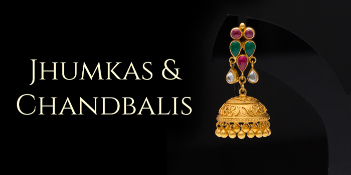 Browse Studs, Jhumkas & Chandbalis