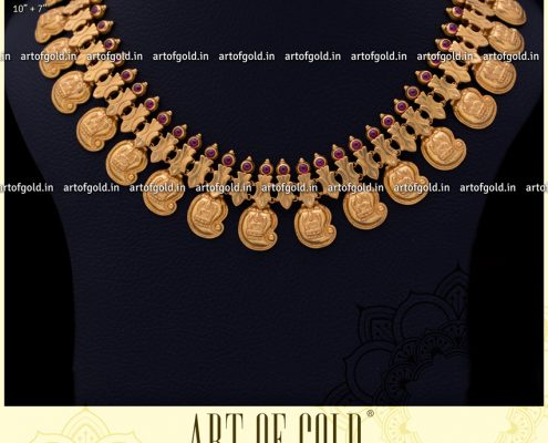 Lakshmi Gold Mango Necklace