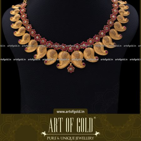 Gold Mango Necklace