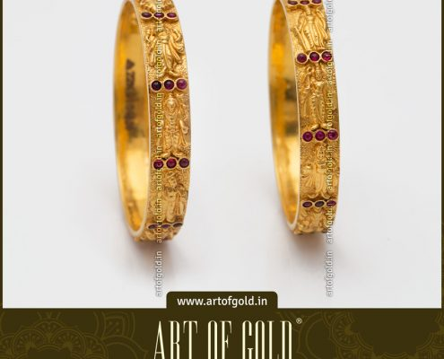 Light Weight Dasavatharam Bangle