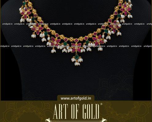 Simple Guttapusalu Necklace
