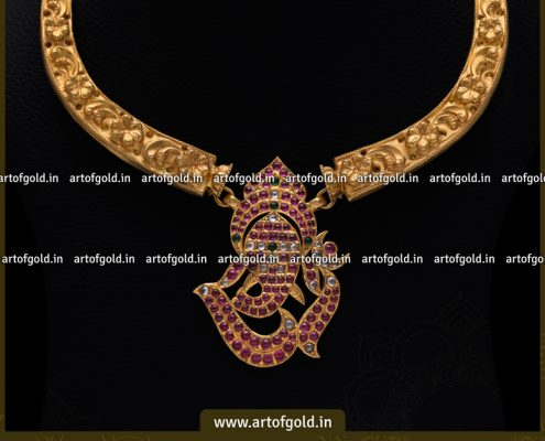 Kanti Necklace Ganesha Pendant