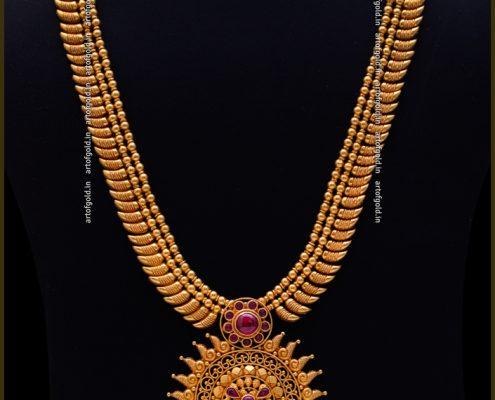 Mullamottu Mala with pendant