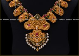 Nagas Necklace – Peacock & Mango motifs