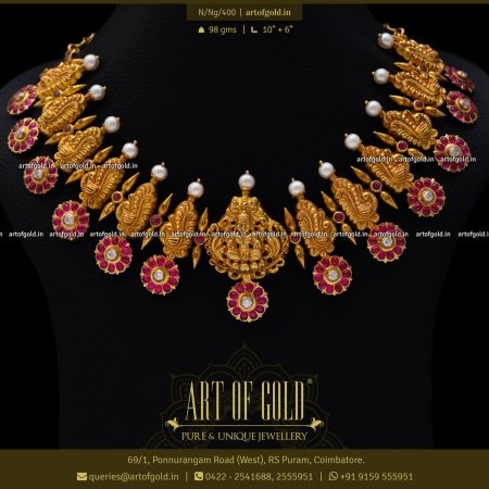 Nakshi Necklace - Temple Jewellery