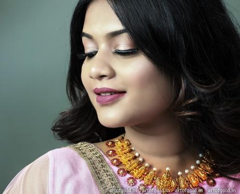 Nakshi Necklace - Temple Jewellery