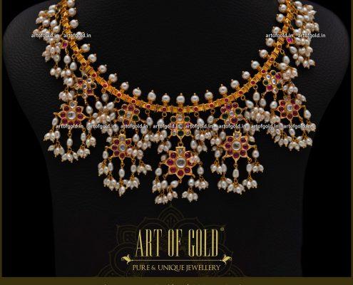 Guttapusalu Necklace - Gold