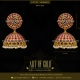 Bridal Gold Jhumkas - Antique & Kemp