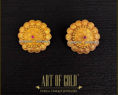 Kasu Earrings with removable attachment