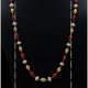 Pearl Coral & Gold chain