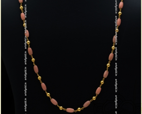 Coral Gold Chain