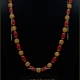 Antique Coral Gold Chain