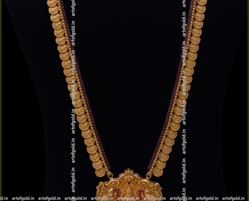 Kasu Haram - Lakshmi Pendant