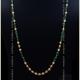 Pearl, Emerald & Gold chain