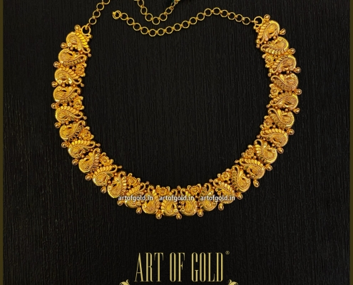 Light Weight Bridal Necklace