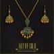 Emerald Pendant set in Gold