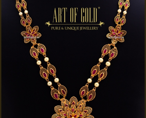 Gold Medium Length Necklace