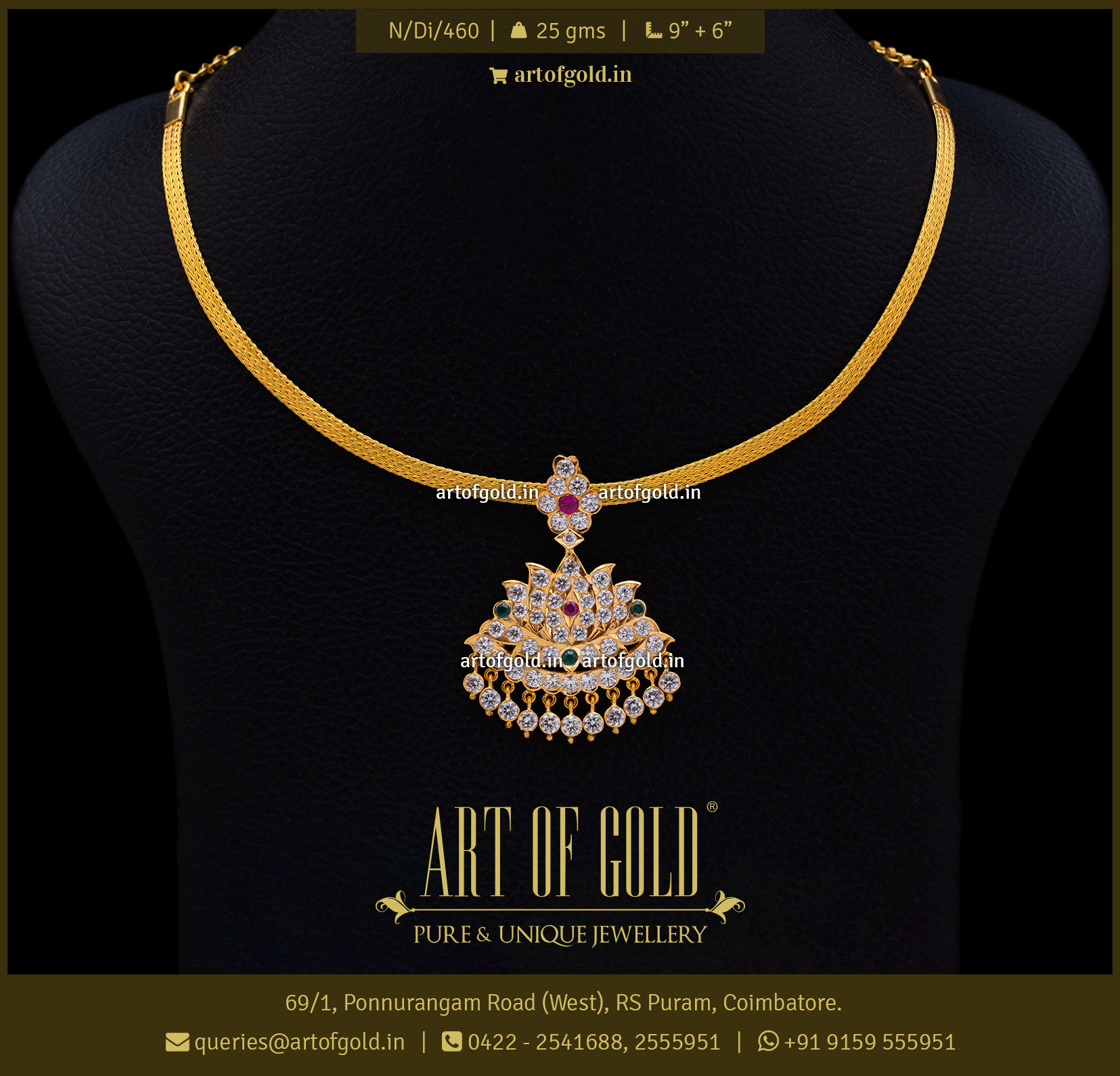 Traditional Pathakam Necklace