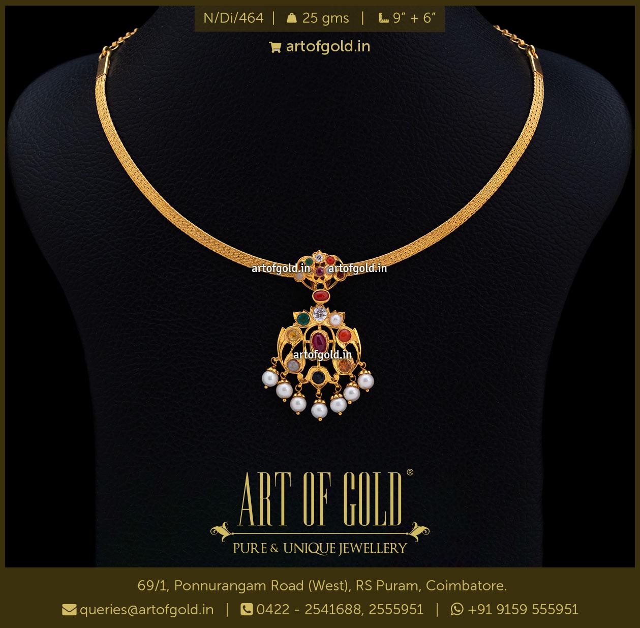 Navaratna Necklace attigai