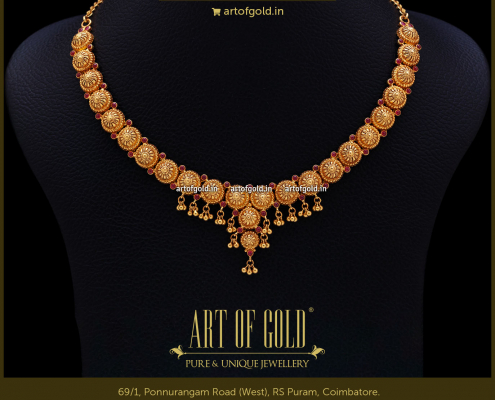 Gold Light Weight Necklace