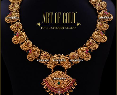 Nakshi Gold Necklace